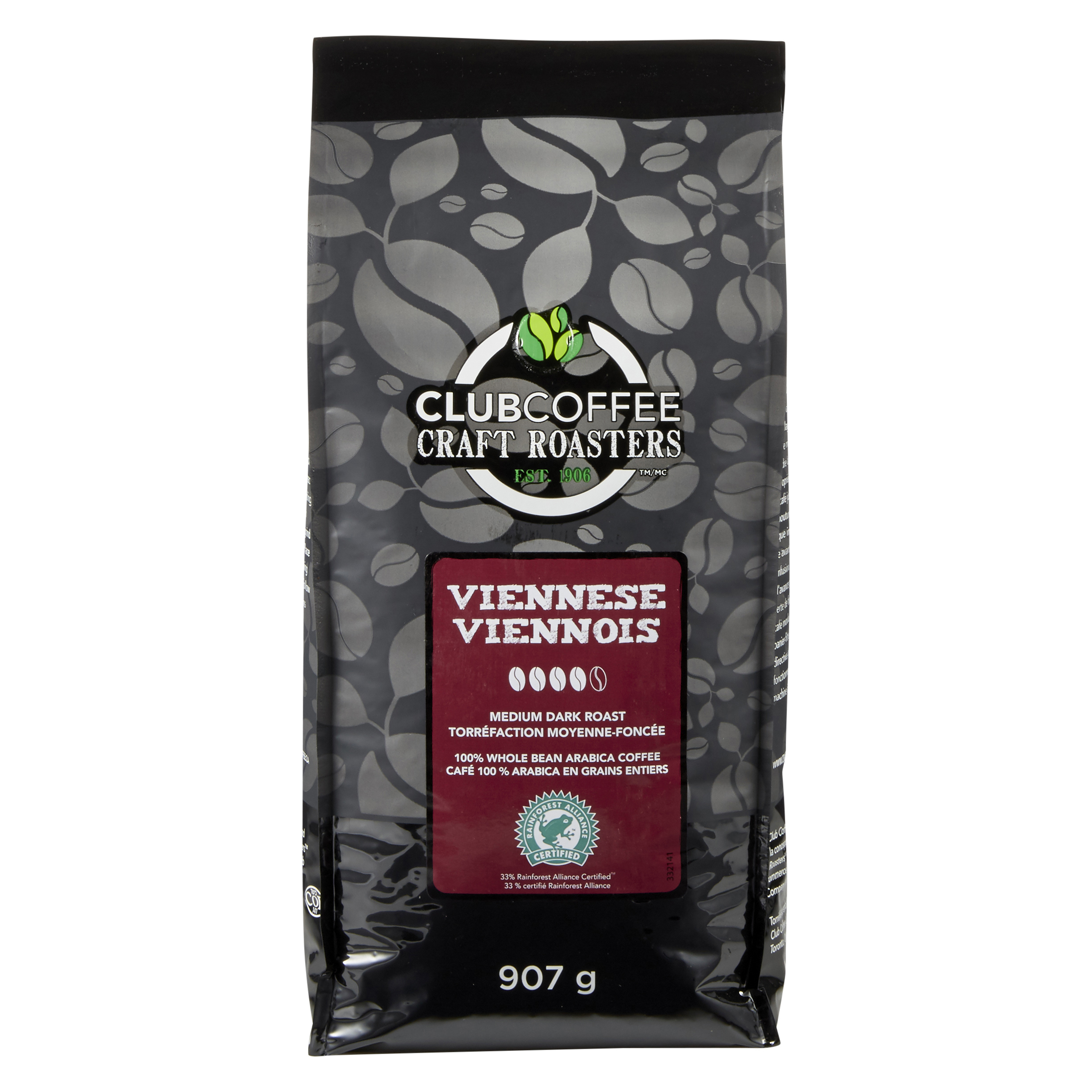 Club Coffee Craft Roasters - Viennese Blend - Medium Dark Roast